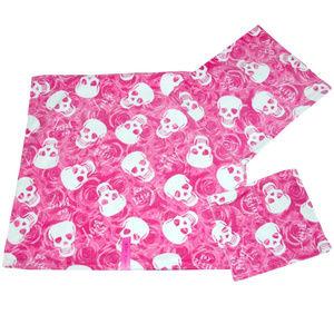 Betsey Johnson ◈ 2pc Towel Set ◈ Rose Skull XOXO